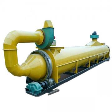Industry Machine Biomass Wood Chips Sawdust Rotary Dryer Machine Drying Palm Shells in India