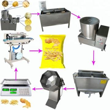 Fully Automatic Potato Chips Making Machine 800 - 900kg/H Saving Energy