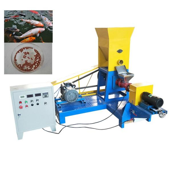 Small fish feed pellet machine Processing video pellet machine stock feed pelleting plant #3 image