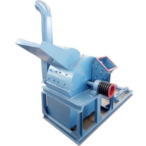 Steel Blade Wood Crusher Machine , Fully Sealed Wood Powder Making Machine #1 image