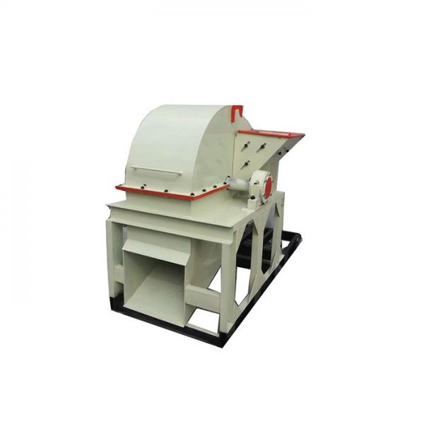 Steel Blade Wood Crusher Machine , Fully Sealed Wood Powder Making Machine #3 image
