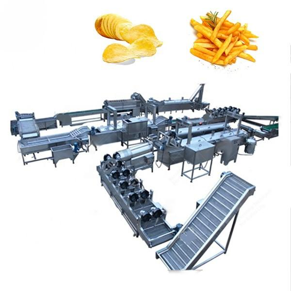 Industrial Automatic Potato Chips Making Machine Electric Heating With High Capacity 200kg/H #1 image