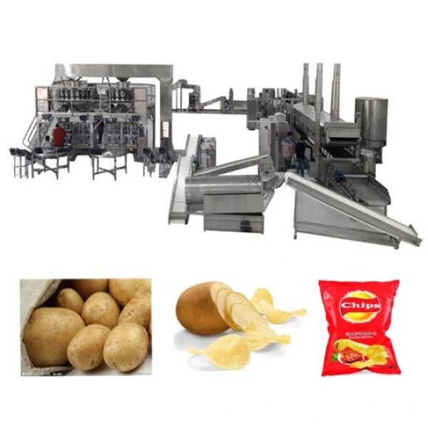 Industrial Automatic Potato Chips Making Machine Electric Heating With High Capacity 200kg/H #3 image