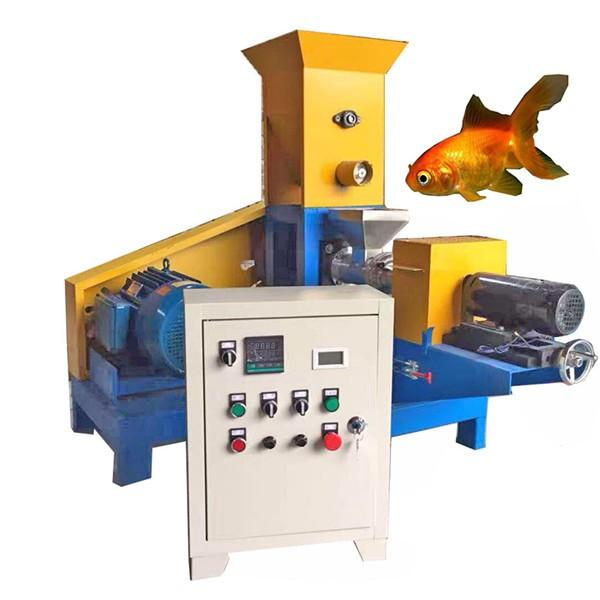 Small fish feed pellet machine Processing video pellet machine stock feed pelleting plant #1 image
